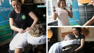 chair massages conference amsterdam